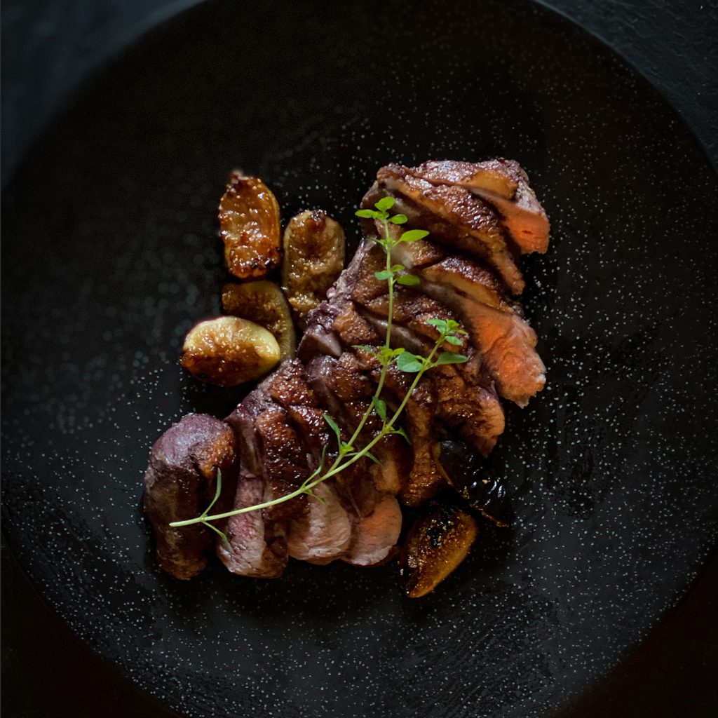 Duck with Figs & Port