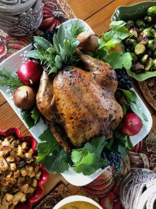 Holiday Turkey with Lapsang Souchong Tea