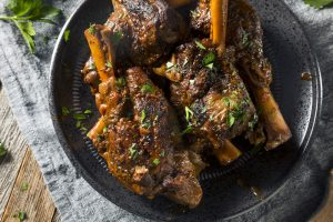 Homemade Braised Lamb Shanks